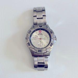Swiss Military Watch, Silver